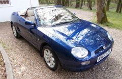 MGF 1.8i 2000 One Family Owner from new (W967LAH)