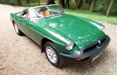 MGB Roadster 1978 One Owner 20 years, 56,000 miles from new (WMY329S)