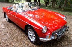 MGB Roadster 1971 Older Restored (HYK696K)