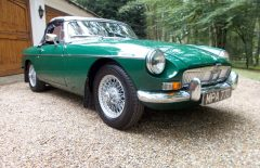 MGB Roadster 1966 Last owner 20 Years (MPA77D)