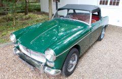 MG Midget Mk1 1962 One Family Owner Last 20 Years (578UKO)
