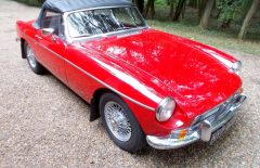 MGB Roadster 1967 Last owner 25 Years (NYP440E)